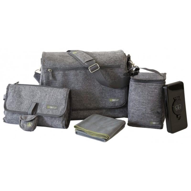 Bblüv - Ultra sac à couches - Gris
