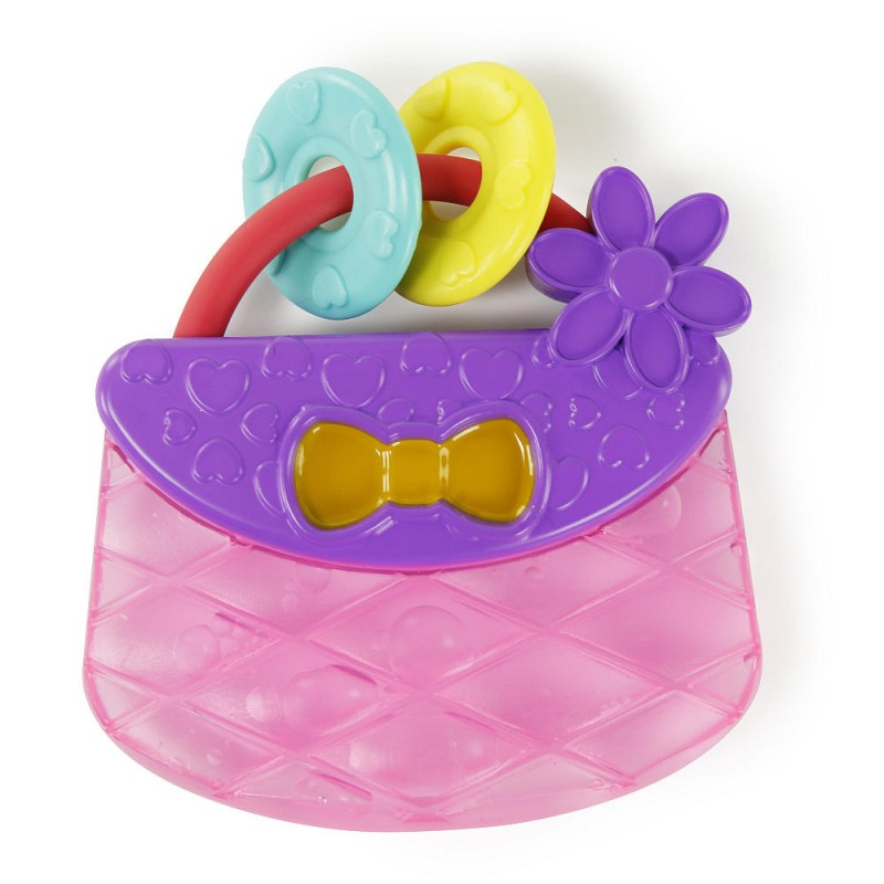 Bright Starts - Jouets à dentition - Carry & Teethe Purse