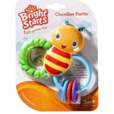 Bright Starts - Jouet de dentition - Chewbee Rattle
