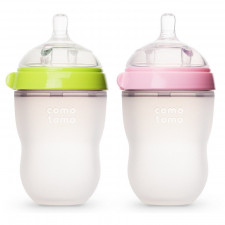 Comotomo - Silicone Baby Bottle 250ml/8oz (1 Pack)
