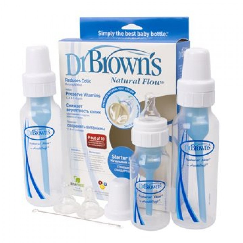 Dr. Brown's - Natural Flow Standard Feeding Starter Kit