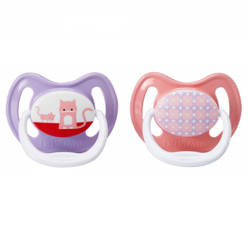 Dr. Brown's - PreVent Unique Pacifier Stage 2 - 6-12 Months