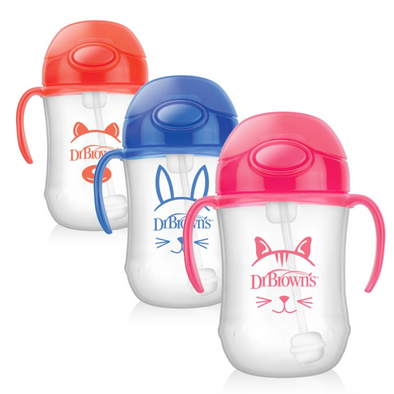 Dr. Brown's - Baby's 1st Straw Cup 9Oz
