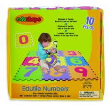 Edu Shapes - Tuiles Puzzles Tapis 10pcs