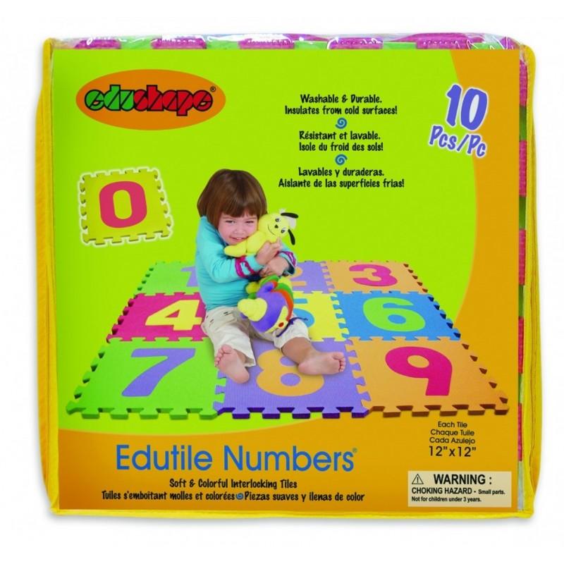 Edu Shapes - Tuiles Puzzles Tapis 10pcs