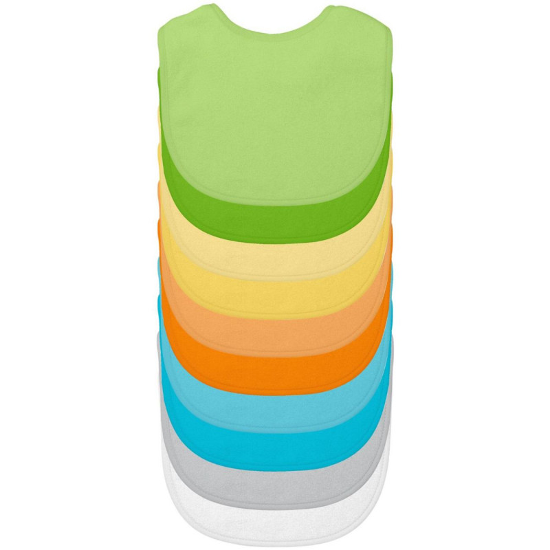 Green Sprouts - Stay Dry Bibs 10pk (Color Options)