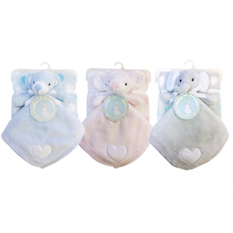 Honey Bunny - Copains calins et couverture pour bébé