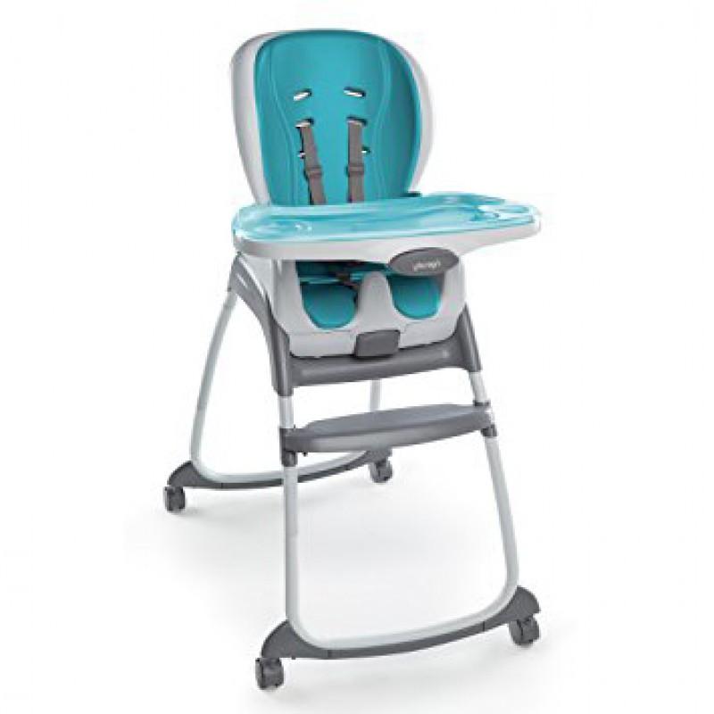 Ingenuity - Chaise haute Trio 3-en-1 SmartClean - Aqua