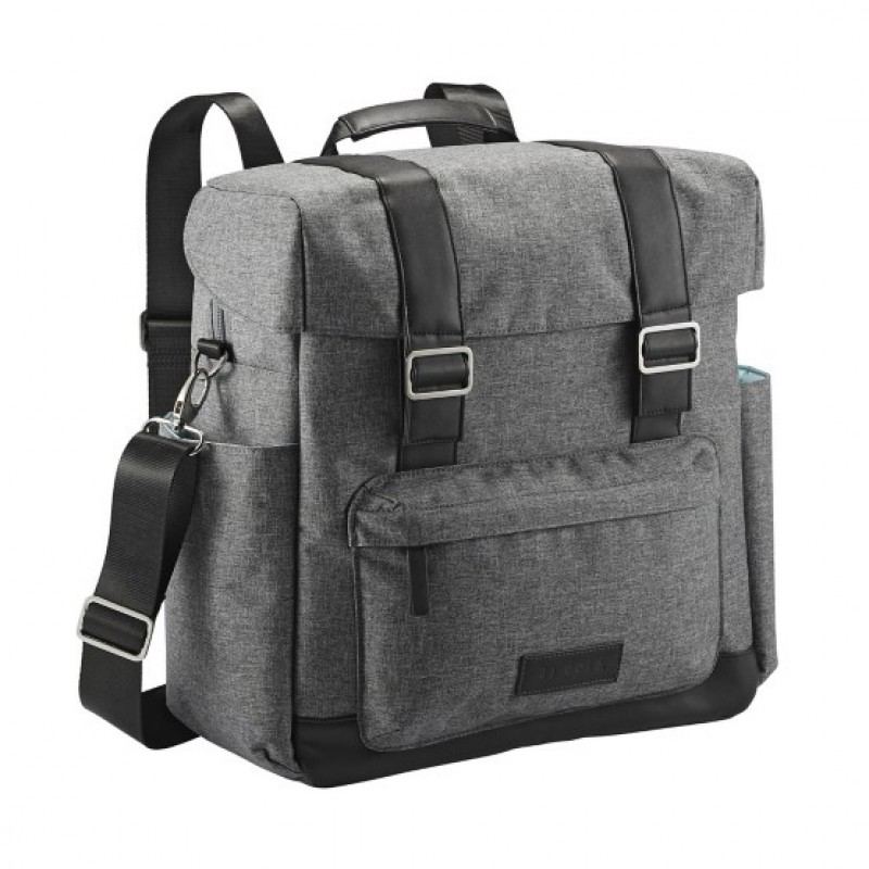 JJ Cole - Diaper Bag Knapsack - Heathered