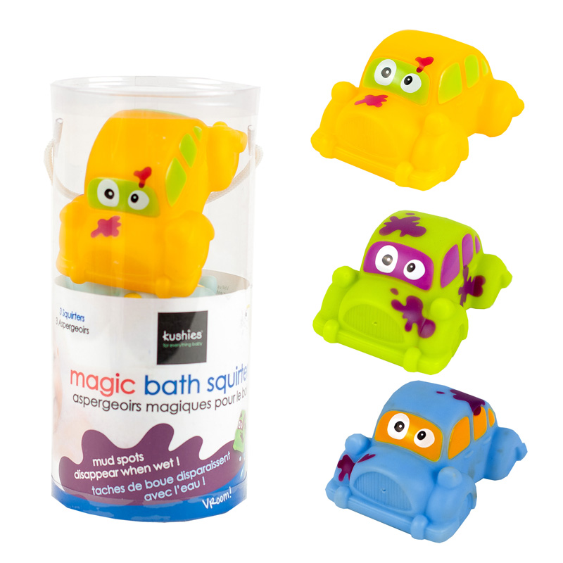 Kushies - Aspergeoirs Magiques Pour Le Bain Vroom