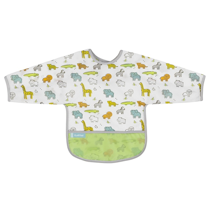 Kushies - Cleanbib With Sleeves - 12-24m