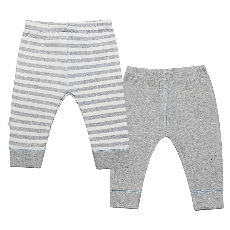 Kushies - Classics Pants 2 Pack Boy - Grey