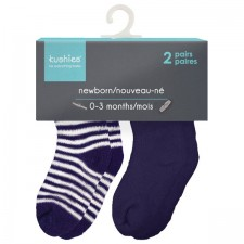 Kushies - Newborn Terry Socks