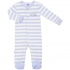 Kushies - Pyjama manches longues Mix n Match - Bandes bleues claires
