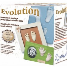 Laissez-vous Mouler - Mouling Kit for Baby's Hands and Feet - Evolution