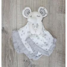 Lulujo - Doudou Lovie éléphant gris