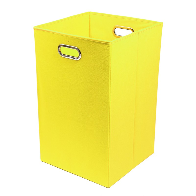 Modern Littles - Folding Laundry Bin - Yellow