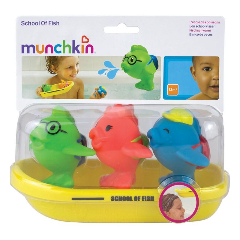 Munchkin - School of Fish Bath Toy