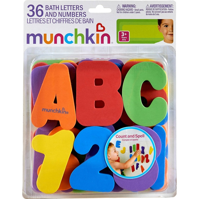Munchkin - Bath Toy Letters and Numbers