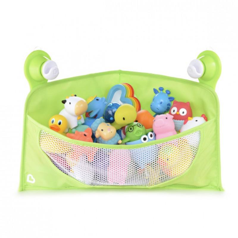 Munchkin - Corner Bath Toys Basket