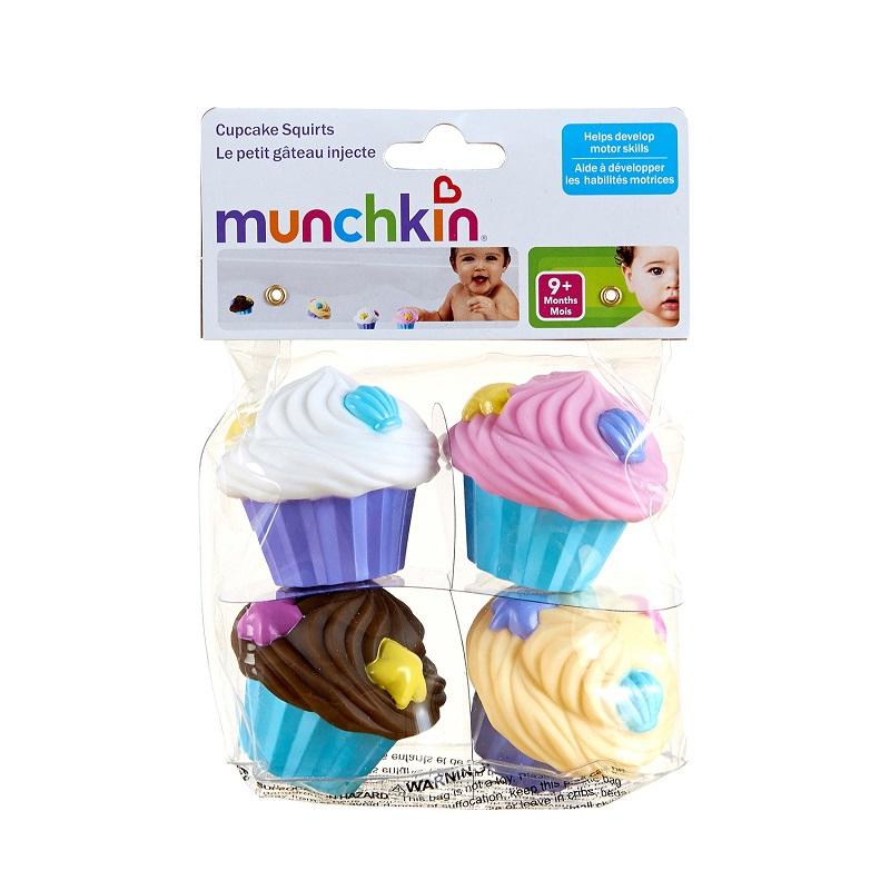 Munchkin - Jouet de Bain Cupcake Squirts