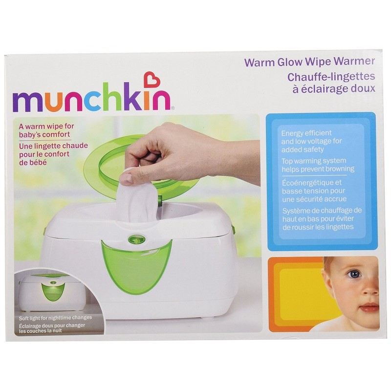 Munchkin - Warm Glow Wipe Warmer