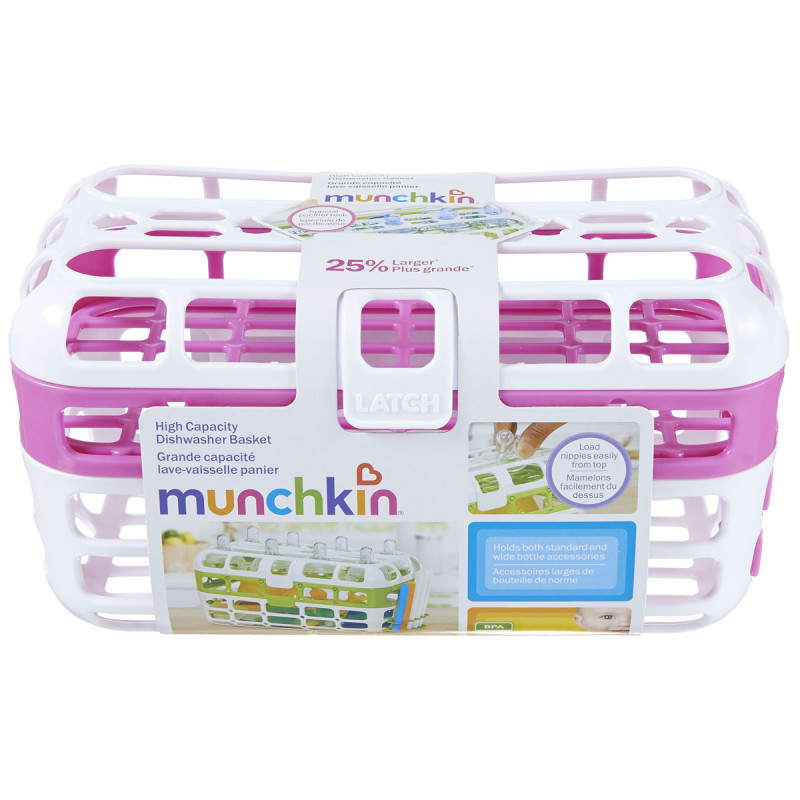 Munchkin - High Capacity Dishwasher Basket