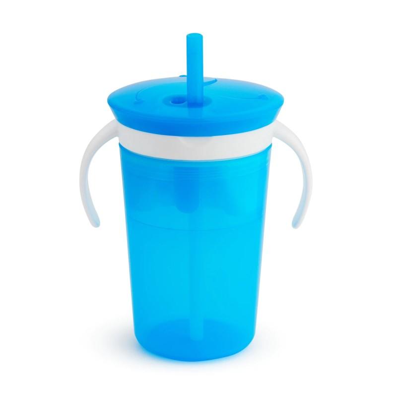 Munchkin -  Tasse à collation et gobelet anti-éclaboussures SnackCatch & Sip