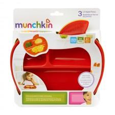 munchkin - 3 Assiettes Lil' Apple