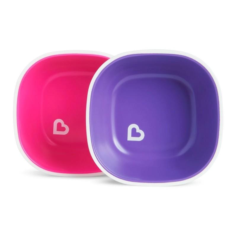 Munchkin - Splash Toddler Bowls - 2 Pack