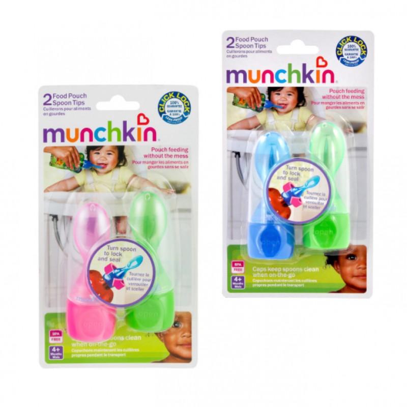 Munchkin - Cuillères à provisions alimentaires Click Lock - 2 pqt.