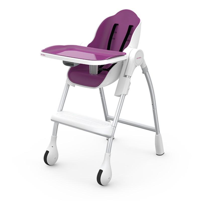 Oribel - Chaise haut complète Cocoon - Prune