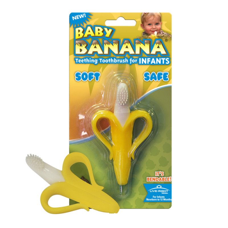 Baby Banana - Infant Teething Toothbrush
