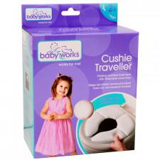 Baby Works - Siège de toilette pliable Cushie Traveler