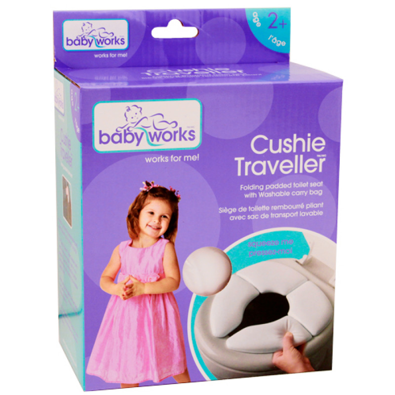 Baby Works - Cushie Traveller Folding Toilet Seat