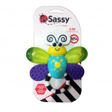 Sassy - Flutterby Teether