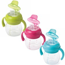 Oxo Tot - Transitions Soft Sippy Spout Cup With Handles 6 Oz