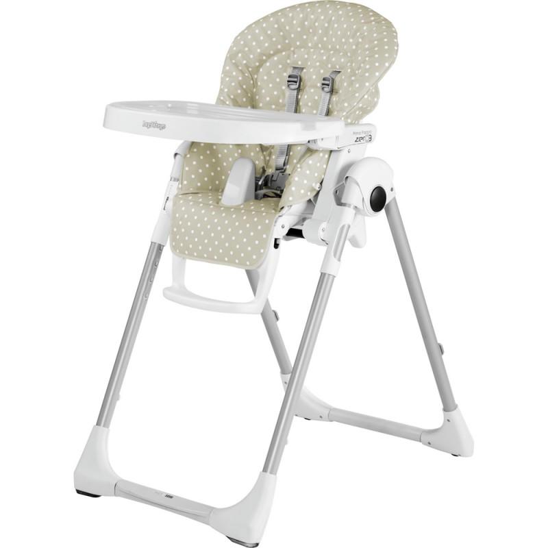 Peg Perego - Chaise Haute Prima Pappa Zero3 - Dot Beige