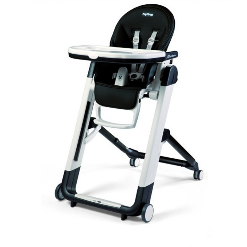 Peg perego chaise haute siesta licorice for Chaise haute peg perego