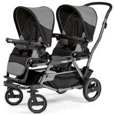 Peg Perego - Double Stroller Duette Piroet Classico - Atmosphere