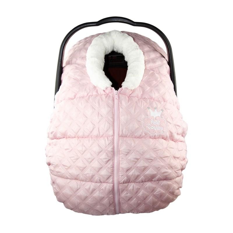 Petit Coulou - Winter Car Seat Cover - Princess Pink