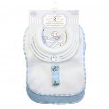 Piccolo Bambino - 2 Bavoirs d'allaitement en ratine