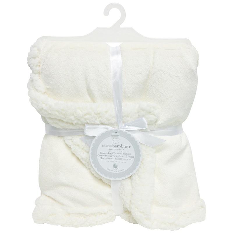 Piccolo Bambino - Reversible Chamois Blanket