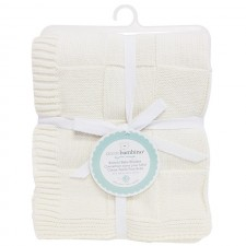 Piccolo Bambino - Knitted Baby Blanket Checkered