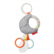 Skip Hop - Silver Lining Jitter Stroller Toy - Moon