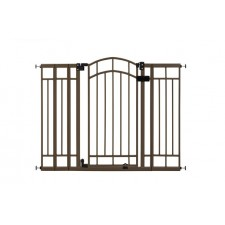 Summer Infant - Decorative Wood & Metal Gate