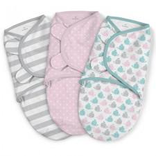 Summer Infant - SwaddleMe Cotton Petit 3pc