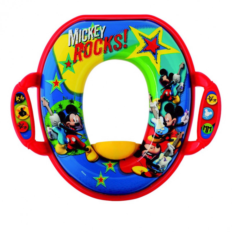 The First Years - Anneau Doux Pour Pot Disney Baby Mickey Rocks