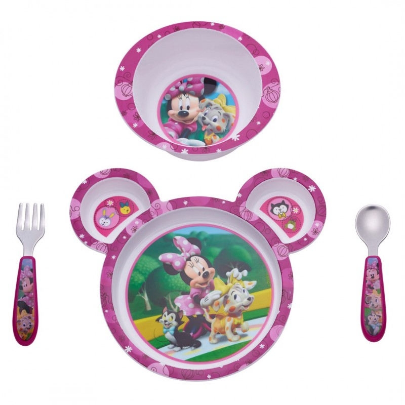 The First Years - Ensemble de repas 4 pièces - Minnie Mouse