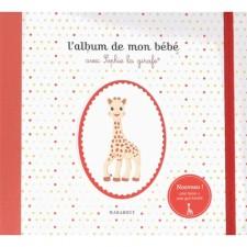 Vulli - L'album de mon bébé avec Sophie la Girafe